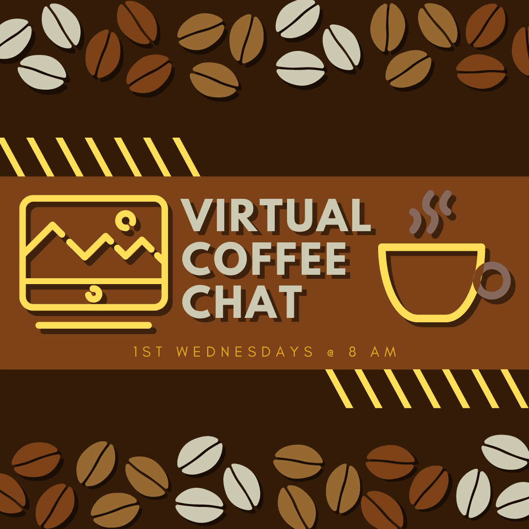 Virtual Coffee Chat Infographic