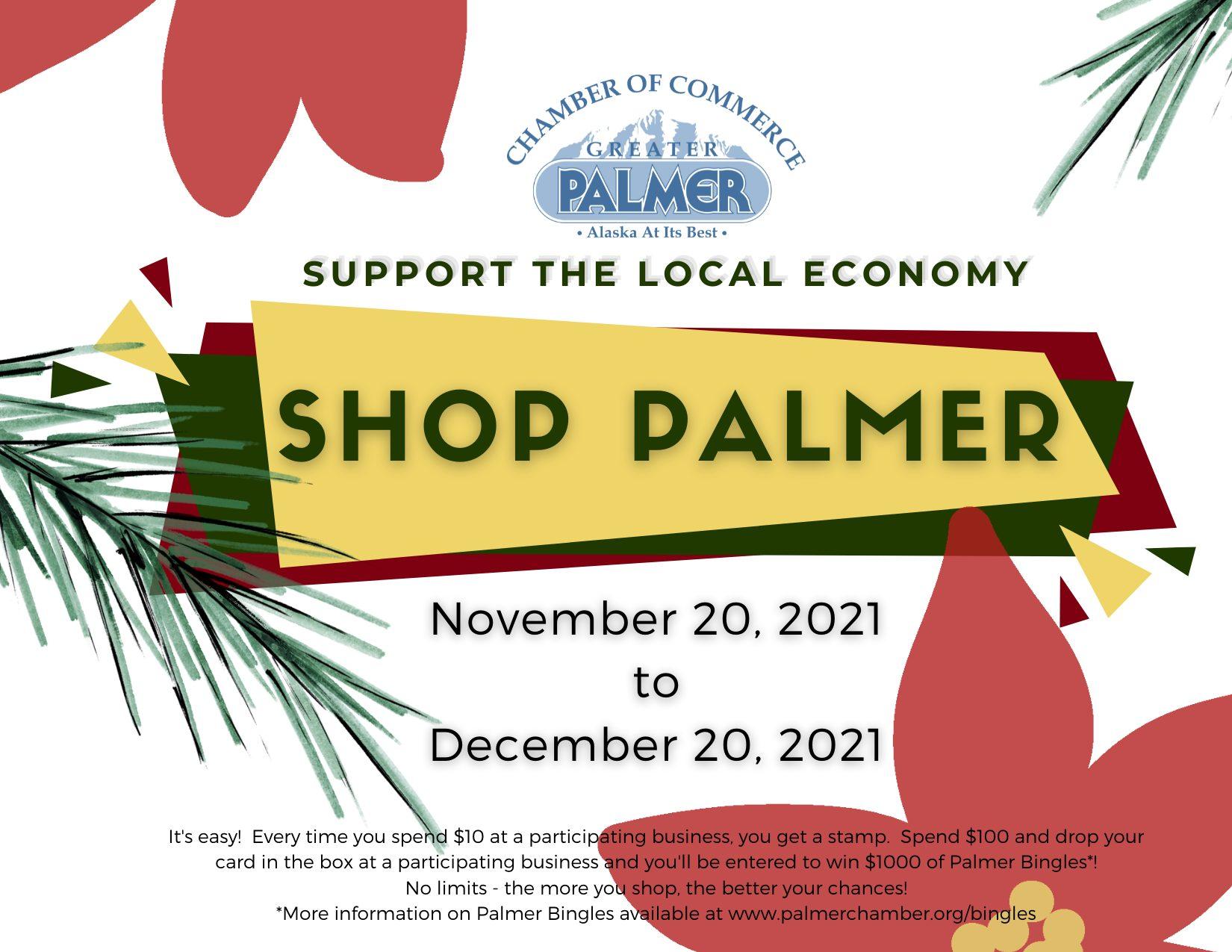 Shop Palmer 2021