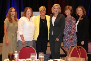 Women's committee with Jill Donovan