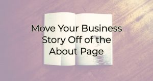 tell your business story