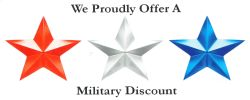 Businesses that offer Military Discounts