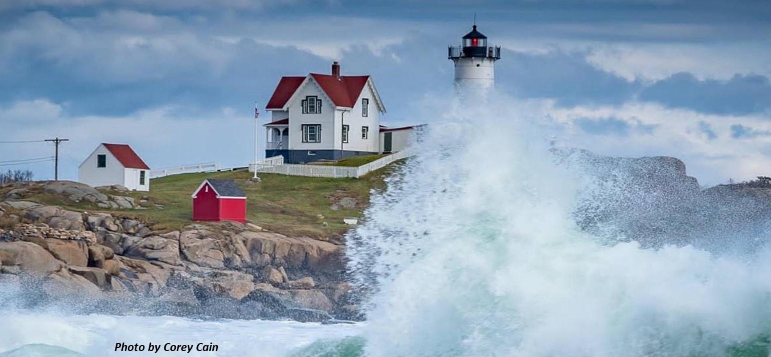 Nubble Lighthouse 2021 PC Corey Cain