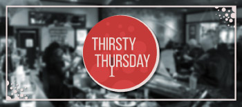 Thirsty Thursday graphic