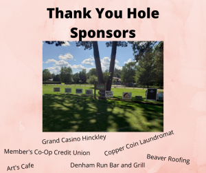 Thank You Hole Sponsors 3