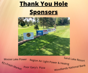 Thank you hole sponsor 1