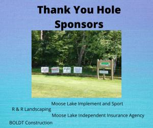 Thank you hole sponsor 2