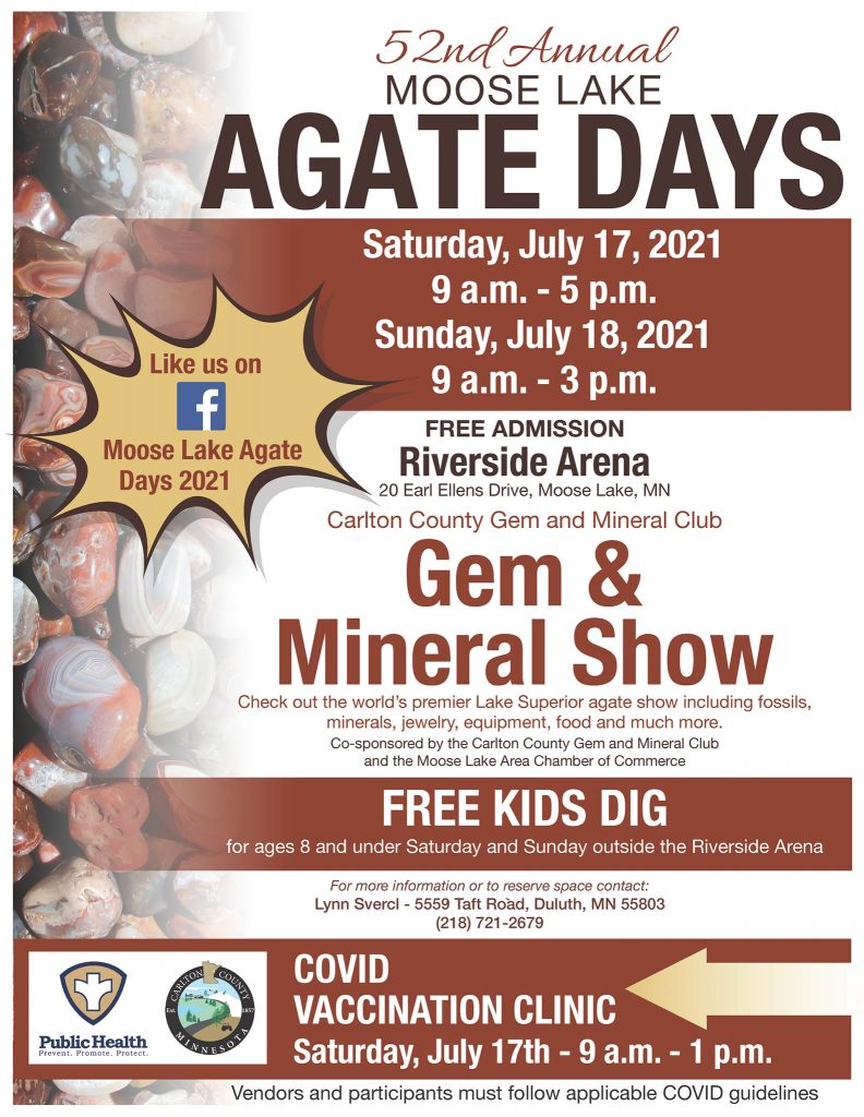 Agate Days 2021 flyer updated