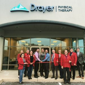 Ribbon Cutting for Drayer Physical Therapy