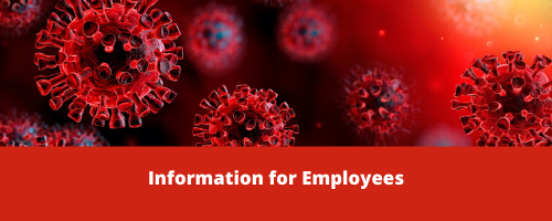 Red info for employees