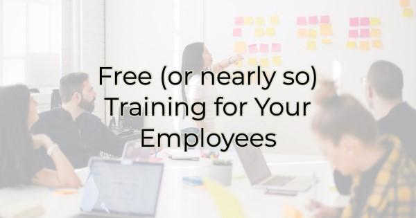 Free Employee Training Blog