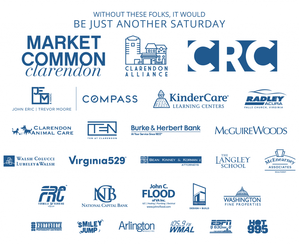 Clarendon Day Sponsors