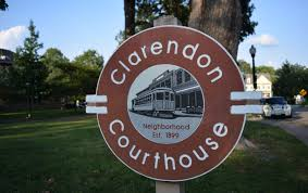 Clarendon Courthouse Sign