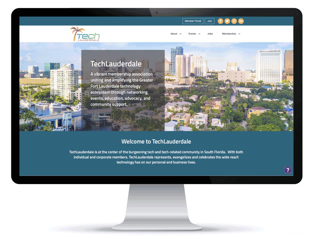 TechLauderdale South Florida New Website