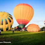 Photo of hot air balloons at the Galt Balloon Festival