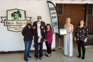 Ben Salas Funeral Home; May 2020's Business of the Month