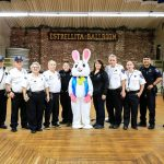 Easter Bunny & first responders