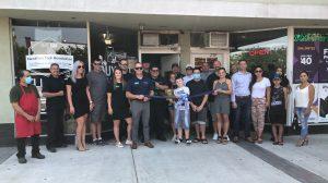 Group Photo of NextGen Tech Revolution's Ribbon Cutting - August 18, 2020