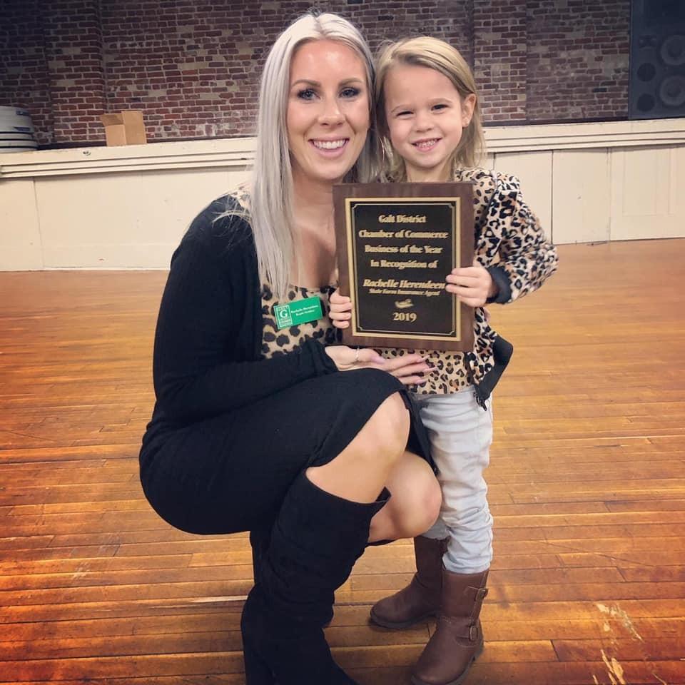 Rachelle Herendeen & daughter - Business of the Year 2019