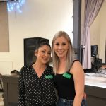 Photo of Jessica Ortiz and Rachelle Herendeen at Galt's Wine, Beer & Food event