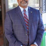Photo of Galt City Manager, Lorenzo Hines, Jr. guest speaker at October 2020 Chamber Luncheon