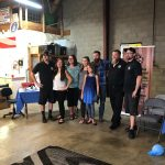 Photo of Galt Sign owners, staff & family at the October 2020 Mixer they hosted
