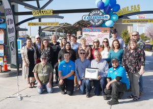 Gilly's Car & Dog Wash - Business of the Month March 2021 - Group photo