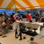 Photo of guests at Carson's Coating's Mixer and 30th Business Anniversary - June 24 2021