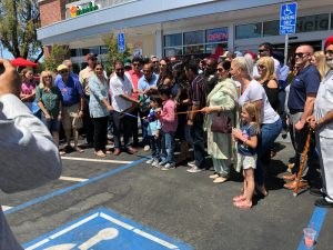 Dalla Family Stores Ribbon Cutting with everyone - June 11 2021