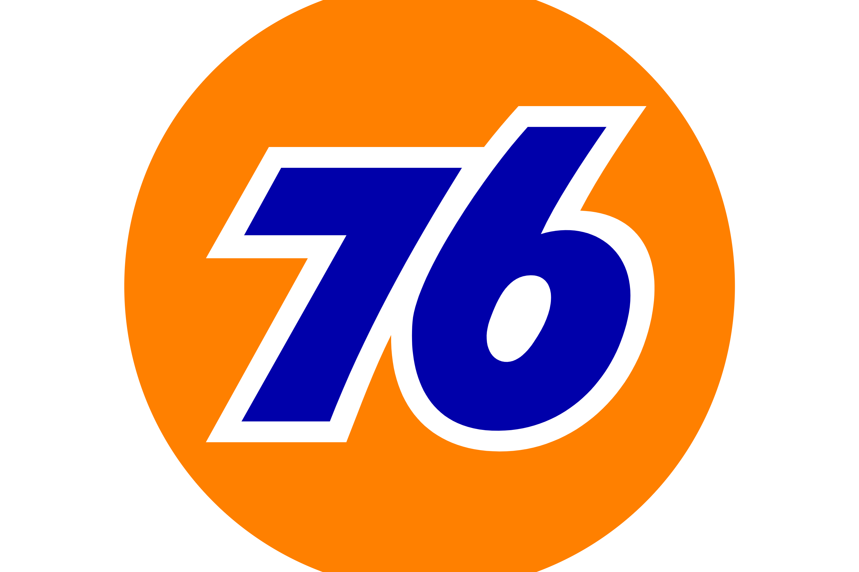 76 Gas Station logo - 2021