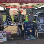 Galt United Methodist Church booth at the Farmers Market on July 23, 2021