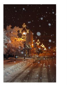 Winter on Columbia St by Nonni Norman