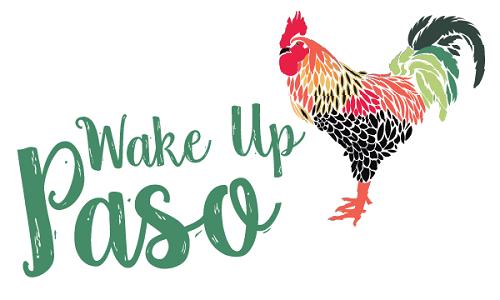 wake up Paso event logo