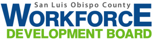 San Luis Obispo county workforce development board logo