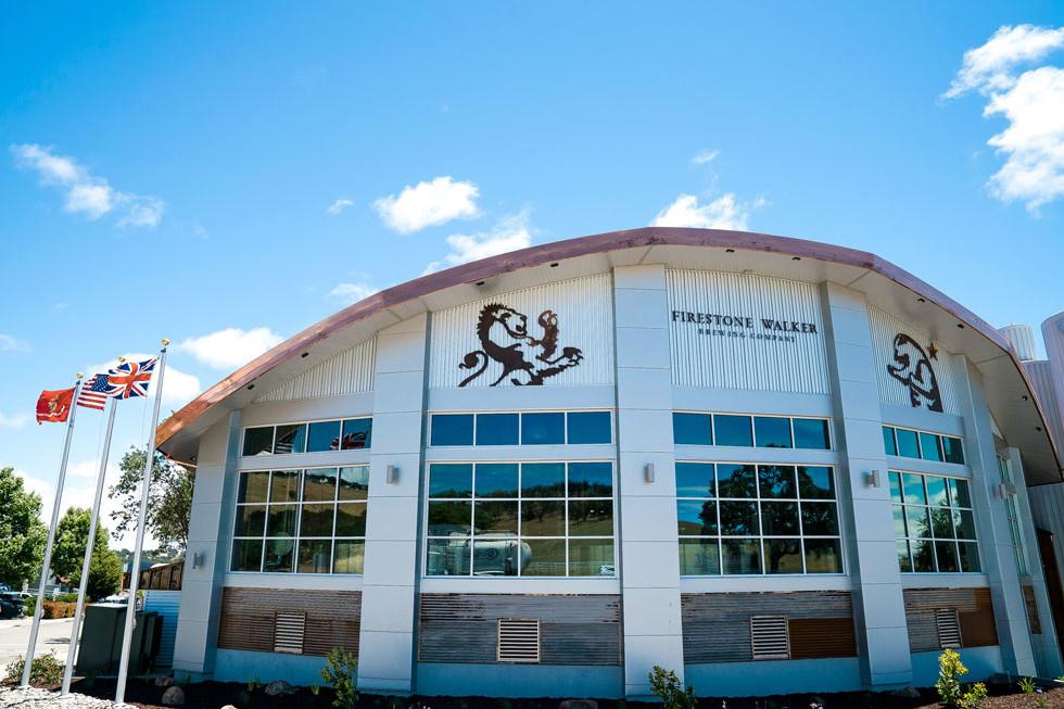 Firestone walker brewing company in Paso Robles