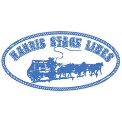 Harris stage lines logo