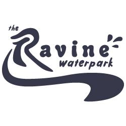 ravine waterpark in Paso robles logo