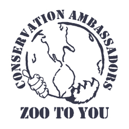 conservation ambassadors zoo to you logo