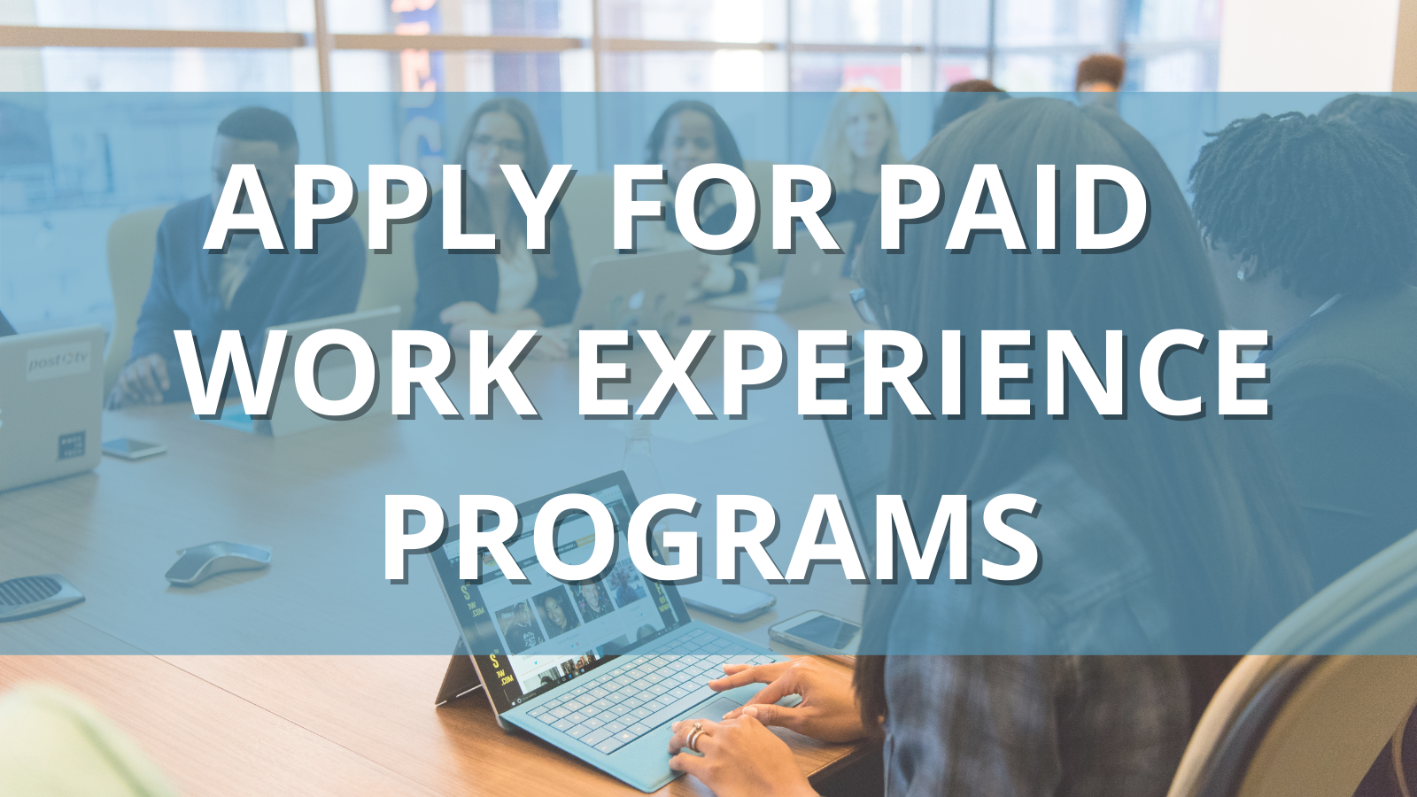 apply for paid work experience programs
