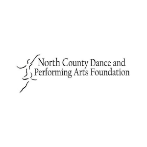 north county dance and performing arts foundation logo