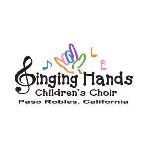 singing hands children's choir logo
