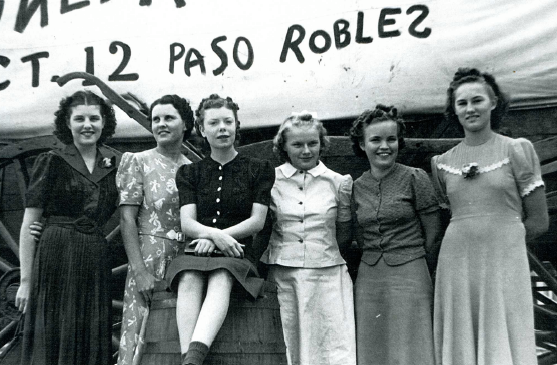 1940 Pioneer Day belle contestants
