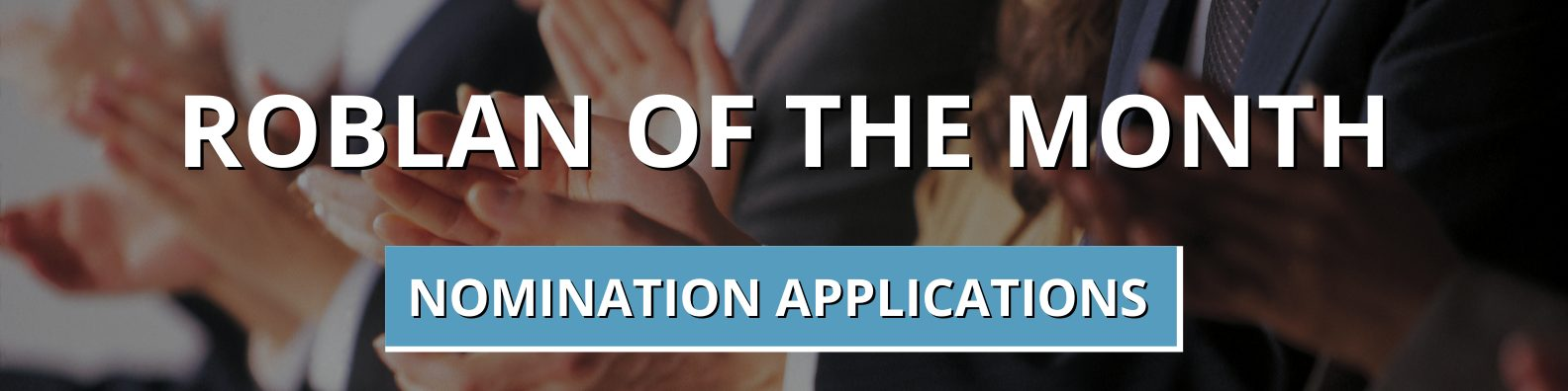 nomination application for roblan of the month