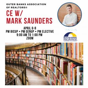 2021 Mark Saunders April Logo