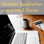 Membership Application & MLS Forms Going Online