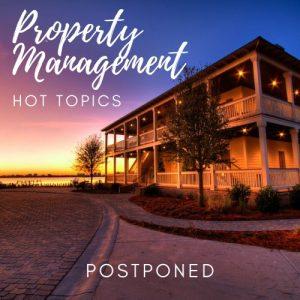 PM Hot Topic Postponed