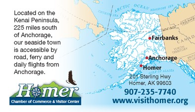 Road to Homer Map