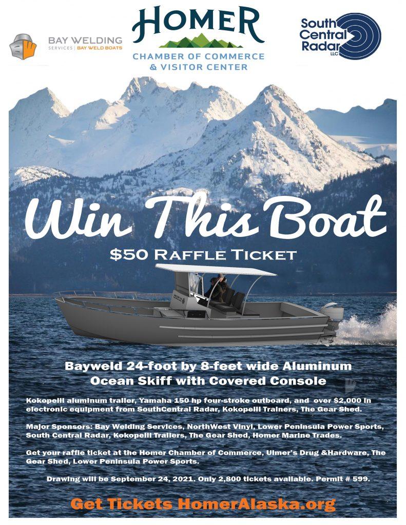 Bayweld boat raffle
