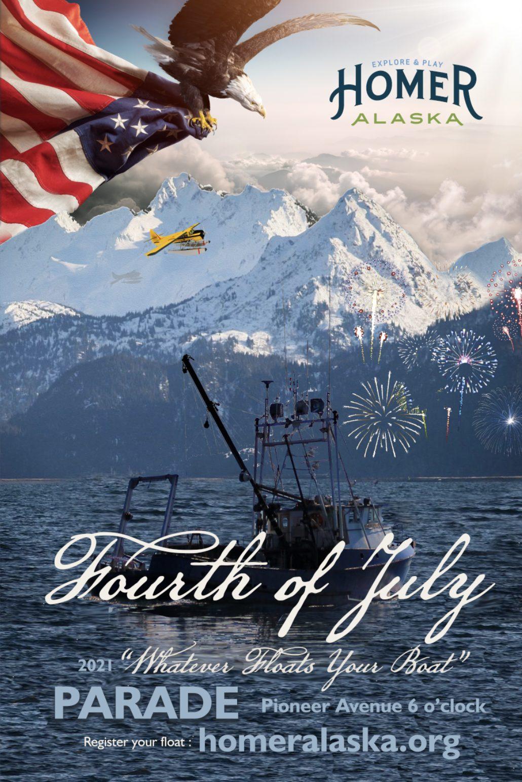 Fourth of July Homer Alaska lores