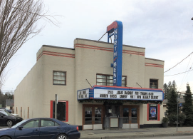 north bend theatre exterior shot