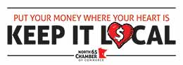 put your money where your heart is and keep it local